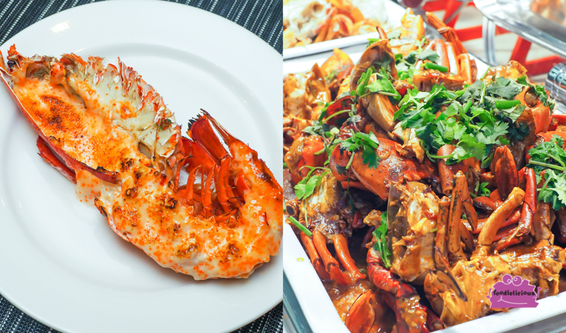 Review Buffet At Ginger Parkroyal On Beach Road: Free-flow Mentaiko Lobsters & Crabs Buffet Promo Code At