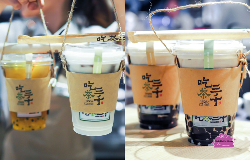 CHICHA San Chen 吃茶三千 Famous Taiwan Oolong Bubble Tea in 313 ...